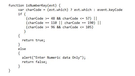javascript - Numeric textbox with decimal point | DaniWeb