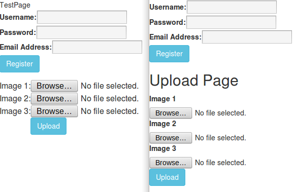 php - Bootstrap Not Working with Image Upload     [SOLVED