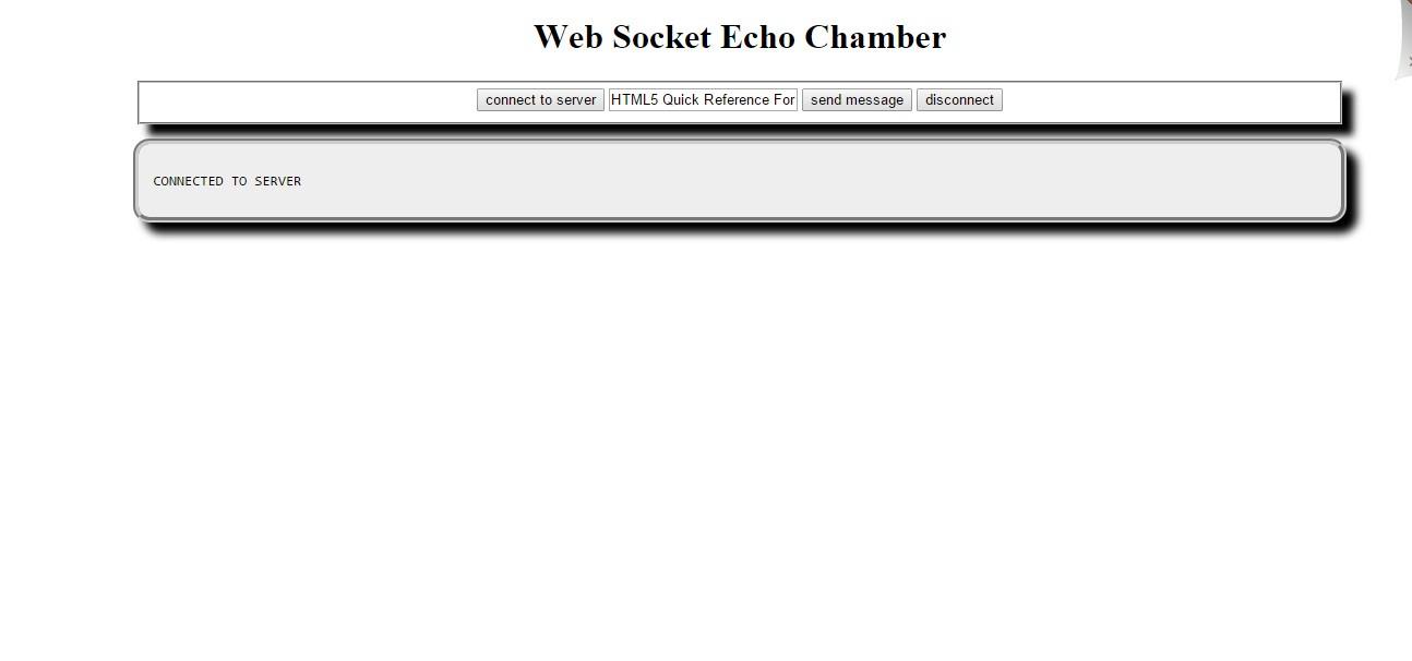 javascript - WebSocket is not working on localhost | DaniWeb