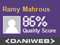 RamyMahrous has contributed to our community