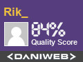 Rik from RCE has contributed to DaniWeb