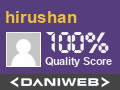 hirushan has contributed to DaniWeb