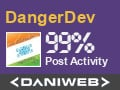 DangerDev has contributed to DaniWeb