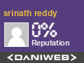 srinath reddy has contributed to DaniWeb