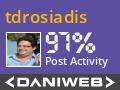 tdrosiadis Contributes to DaniWeb