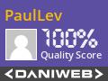 PaulLev Contributes to DaniWeb