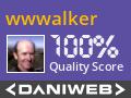 wwwalker Contributes to DaniWeb