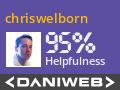 chriswelborn Contributes to DaniWeb
